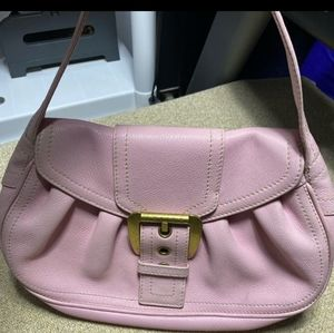 Celine Authentic Vintage Pink Satchel